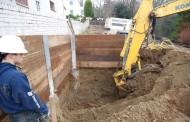 پایدارسازی دیوارههای گودبرداری شده
