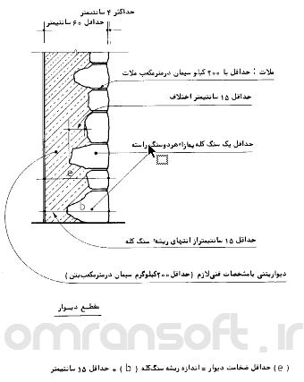 دیوار نیمه سنگی (2) - semi stone walls
