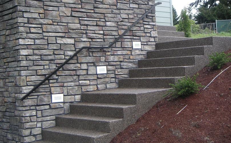 پلههای بتنی