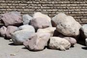 انواع سنگ ساختمانی در دیوارهای سنگی