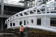 انواع اتصالات اجرایی ساختمانهای فولادی